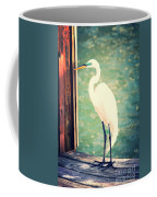 Sunset Dock Visitor Coffee Mug