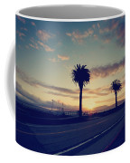 Sunset Drive Coffee Mug by Laurie Search