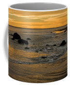 Sunset From Damon Point Coffee Mug