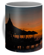 Sunset From Pelican Pier Coffee Mug