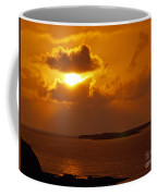 Sunset From The Dolphin Watch Cottage Coffee Mug