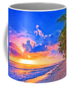 Sunset Glow On The Kona Coast Coffee Mug
