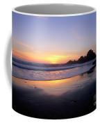 Sunset Gold Big Sur Coffee Mug