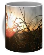 Sunset Grass 2 Coffee Mug