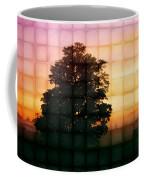 Sunset Grid 2 Coffee Mug