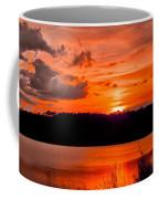Sunset Huntington Beach State Park Coffee Mug