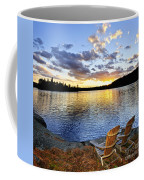 Sunset In Algonquin Park Coffee Mug