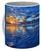 Sunset In Blue Coffee Mug