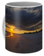 Sunset In Cape May Along The Beach Coffee Mug