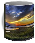 Sunset In Delaware Coffee Mug