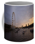 Sunset In London Coffee Mug