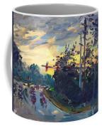 Sunset In Military Highway Norfolk Va Coffee Mug