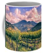 Sunset In Napa Valley Coffee Mug