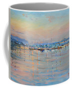 Sunset In Piermont Harbor Ny Coffee Mug