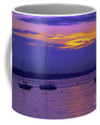 Sunset In Skerries Harbor Coffee Mug