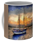 Sunset In The Bay Coffee Mug