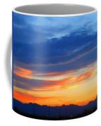 Sunset In The Black Mountains Coffee Mug