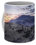 Sunset In The Davis Mountains Coffee Mug