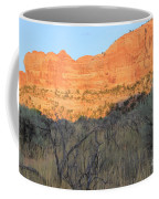 Sunset In The Desert Canyon 2 Coffee Mug