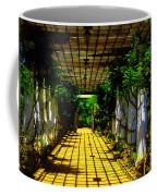 Sunset In The Garden  Coffee Mug