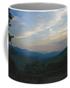 Sunset In The Mountans Coffee Mug
