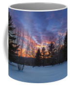 Sunset In The Park Coffee Mug