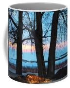 Sunset In The Trees Coffee Mug