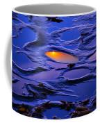 Sunset In Tide Pools Coffee Mug