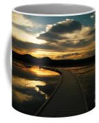 Sunset In Yellow Stone Coffee Mug