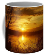 Sunset Lake Galena Coffee Mug