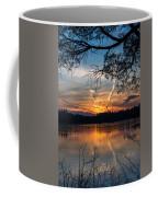 Sunset Lake Horicon Lakehurst New Jersey Coffee Mug