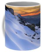 Sunset Light On The Snow Coffee Mug
