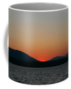 Sunset Lines Of Lake Umbagog  Coffee Mug