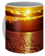 Sunset Love At Crosswinds Coffee Mug