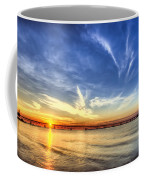 Sunset Mackinac Bridge Coffee Mug