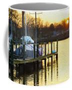 Sunset Marina Coffee Mug