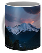 Sunset Mount Rainier Coffee Mug