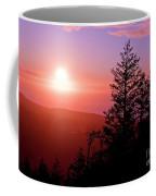 Sunset Off Mt Erie Washington Art Prints Coffee Mug