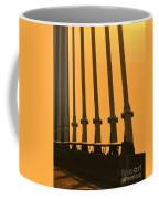 Sunset On A Bridge Coffee Mug