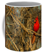 Sunset On A Norhern Cardinal Coffee Mug