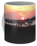 Sunset On Broad Creek II Coffee Mug