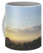 Sunset On Golf Links Coffee Mug