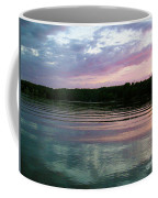 Sunset On Gull Lake Coffee Mug