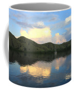 Sunset On Komodo Coffee Mug