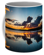Sunset On Little Pine Lake Coffee Mug