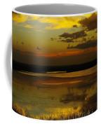 Sunset On Medicine Lake Coffee Mug