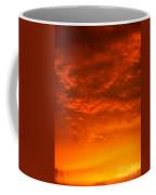 Orange Cloud Sunset Coffee Mug