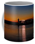 Sunset On Paul Brown Stadium Coffee Mug