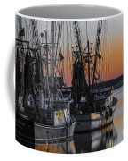 Shem Creek Sunset - Charleston Sc Coffee Mug