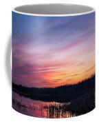Sunset On Teeple Lake Coffee Mug
